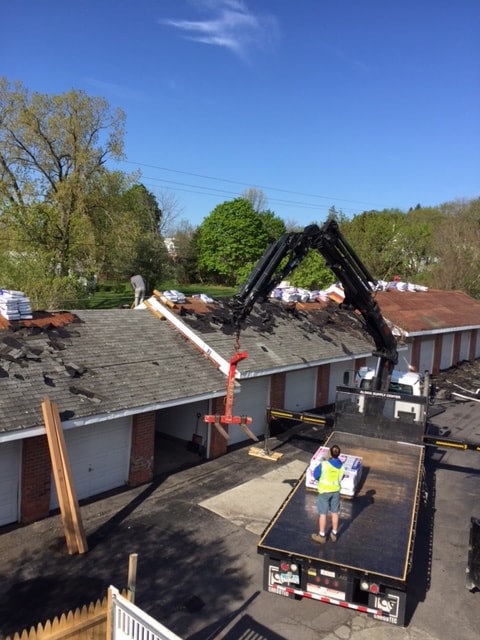 commercial roofing installation in Albany NY